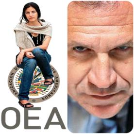 Resultado de imagen para Rosa María p'allá y p'acá con la complicidad de la OEA