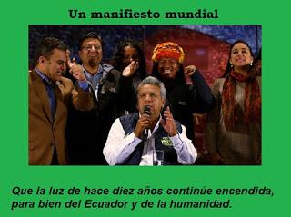 Resultado de imagen para La segunda vuelta electoral en el Ecuador: Un manifiesto mundial
